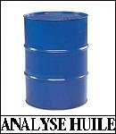 analyse huile hydraulique viscosité acidité teneur eau particules gravimètrie