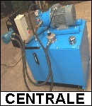 central hydraulique conception maintenance