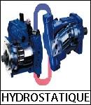 hydrostatique hydraulique pompe moteur