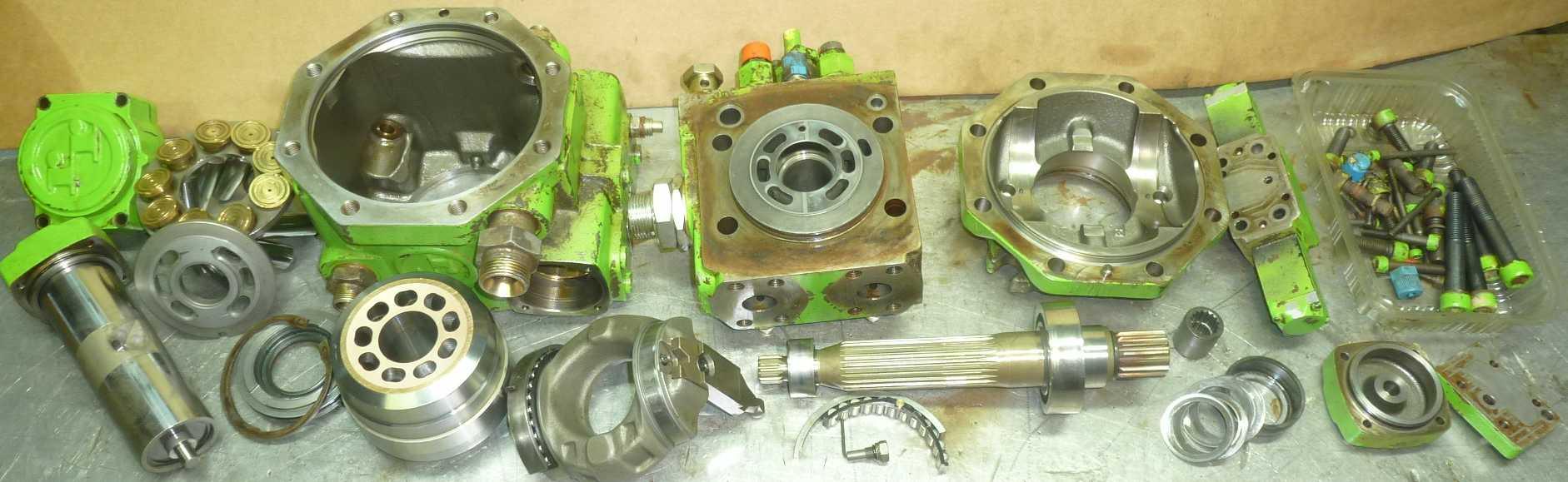 Reparation Pompe-Hydraulique MERLO A4V71 Hydromatik Rexroth