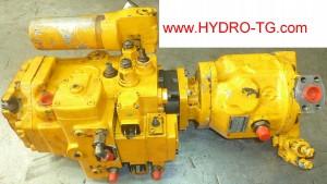 pompe hydraulique à cylindrée variable bosch rexroth en réparation, il sagit d'un a4v et a10v monté sur pelleteuse