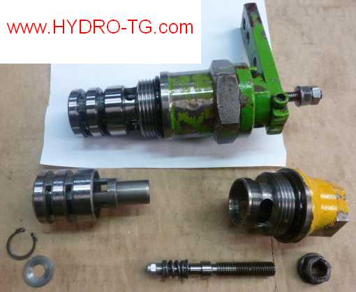 fonctionement-Hydraulique-MERLO-A4V71DA-Rexroth