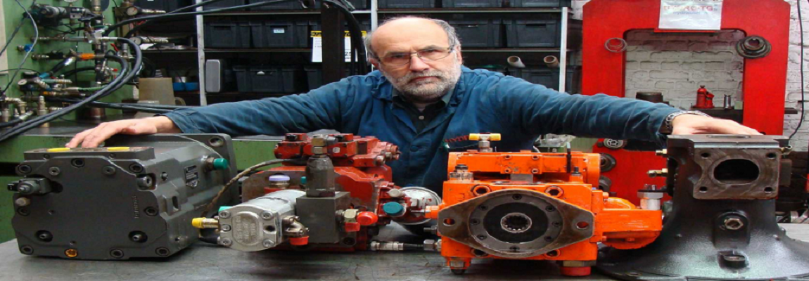 reparation pompe hydraulique moteur hydrauliques