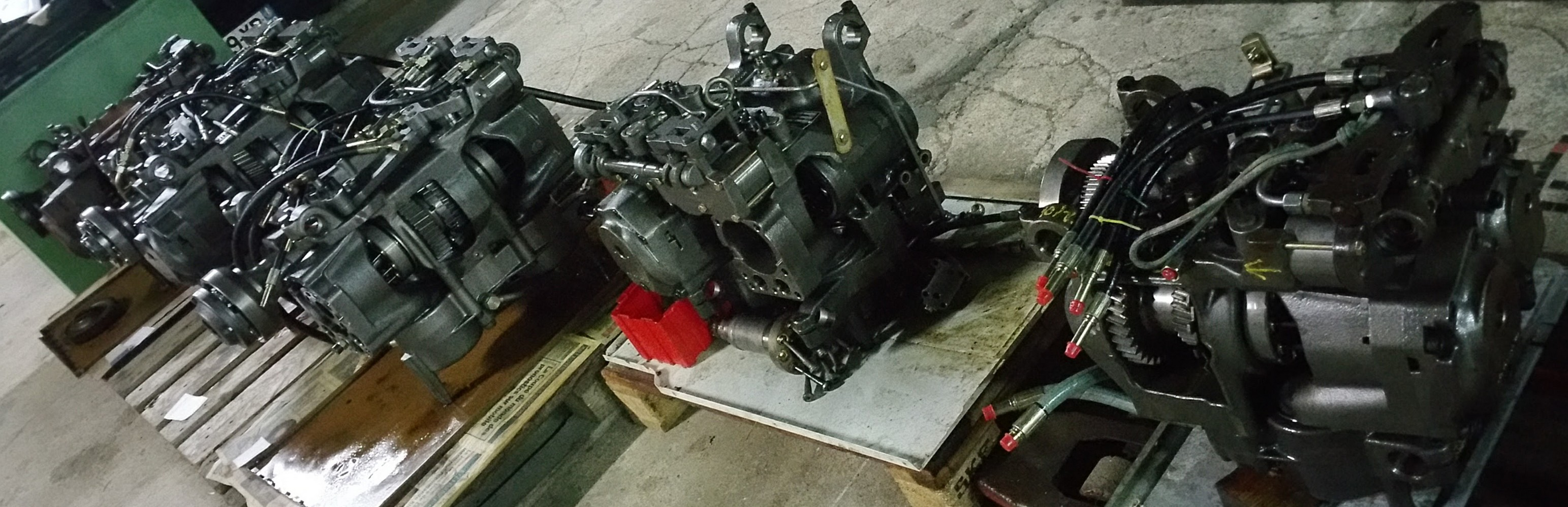 Massey Ferguson Vario gearbox Hydraulic Module Dyna VT