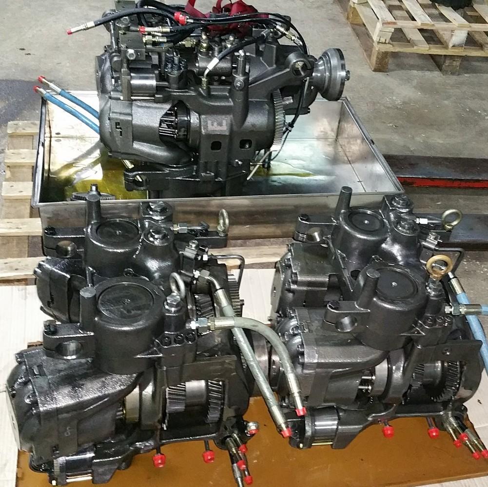 reparation boite hydraulique vario tracteur fendt hydro